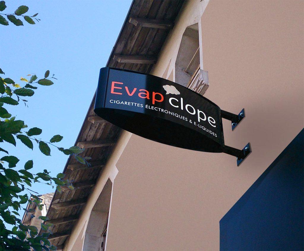 Caisson drapeau - Evap'clope