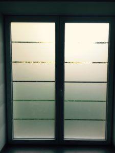 Lettrage vitrine Magga