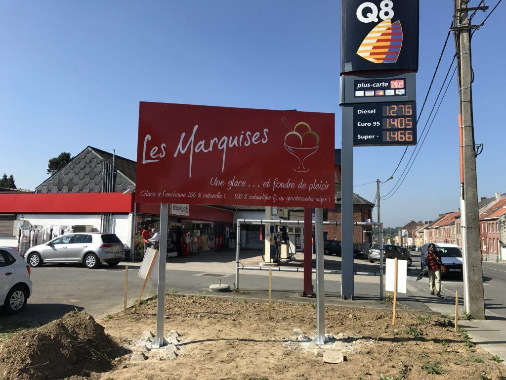 panneau aluminium - Les Marquises