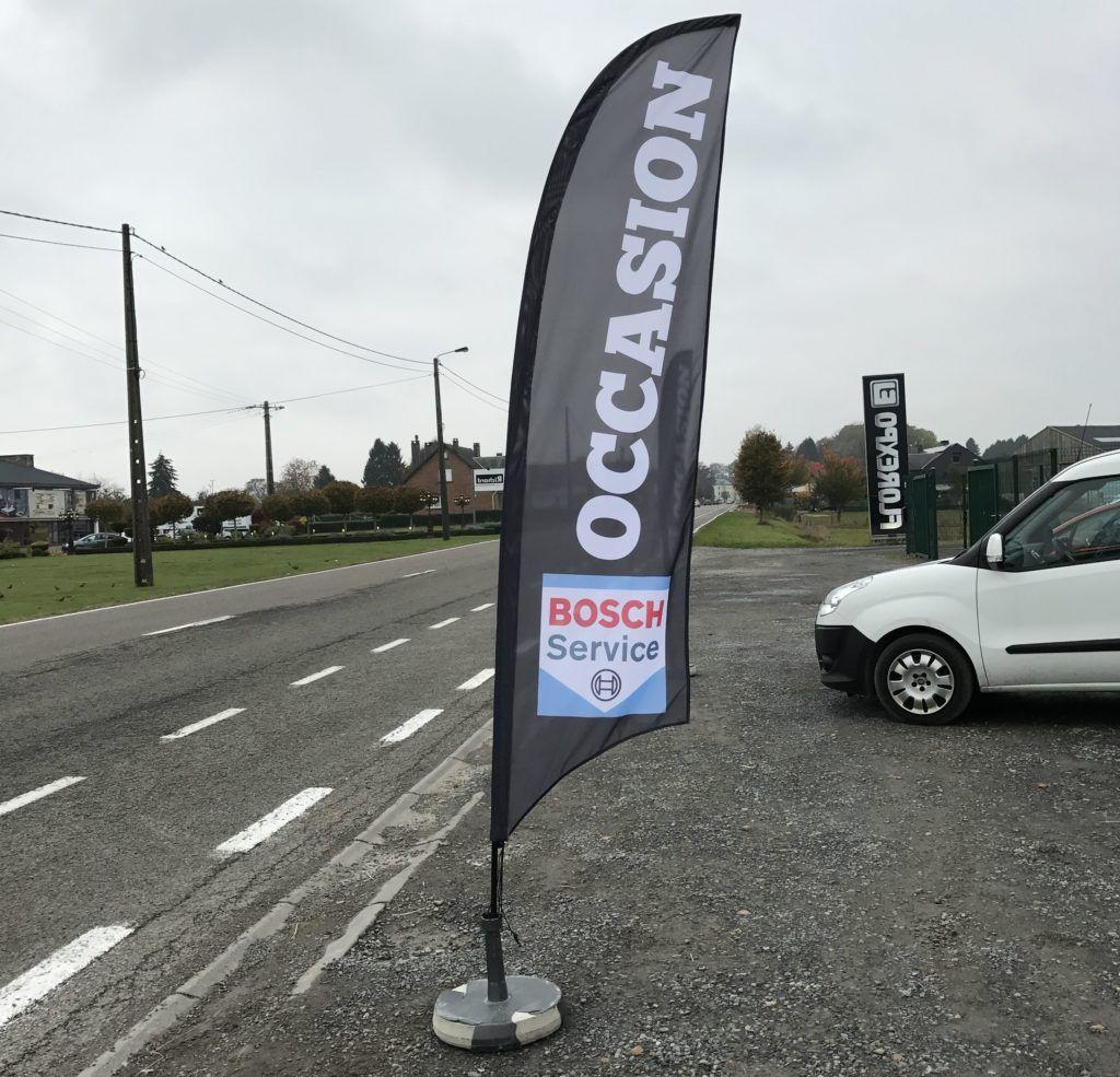 Beachflag - Bosch Service