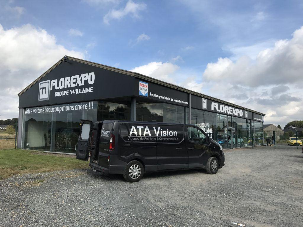 Revêtement façade - Florexpo groupe Willamie