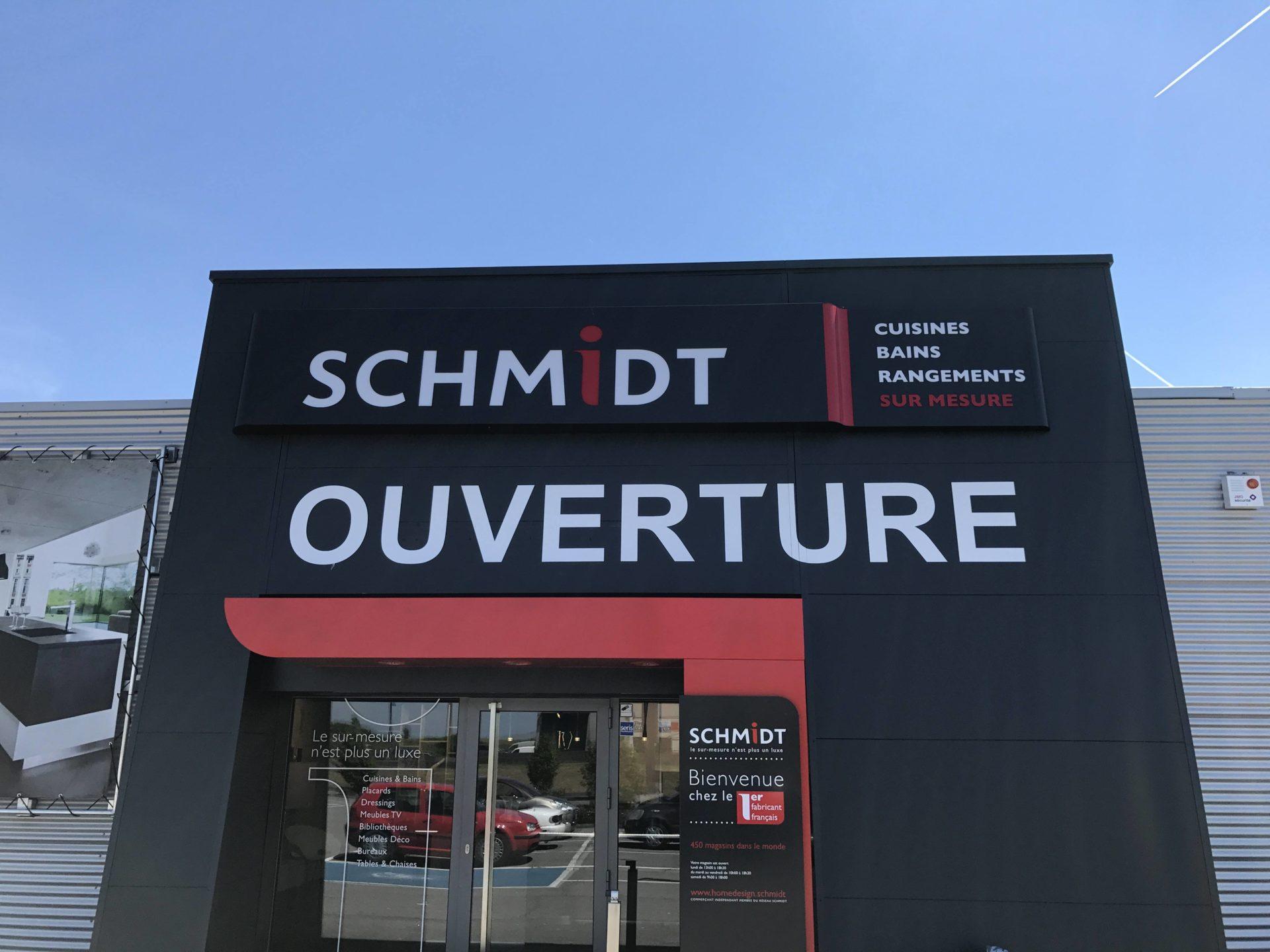 Lettrage - Schmidt