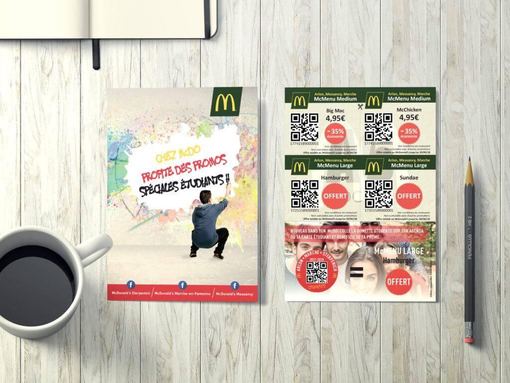 Flyer McDonald's