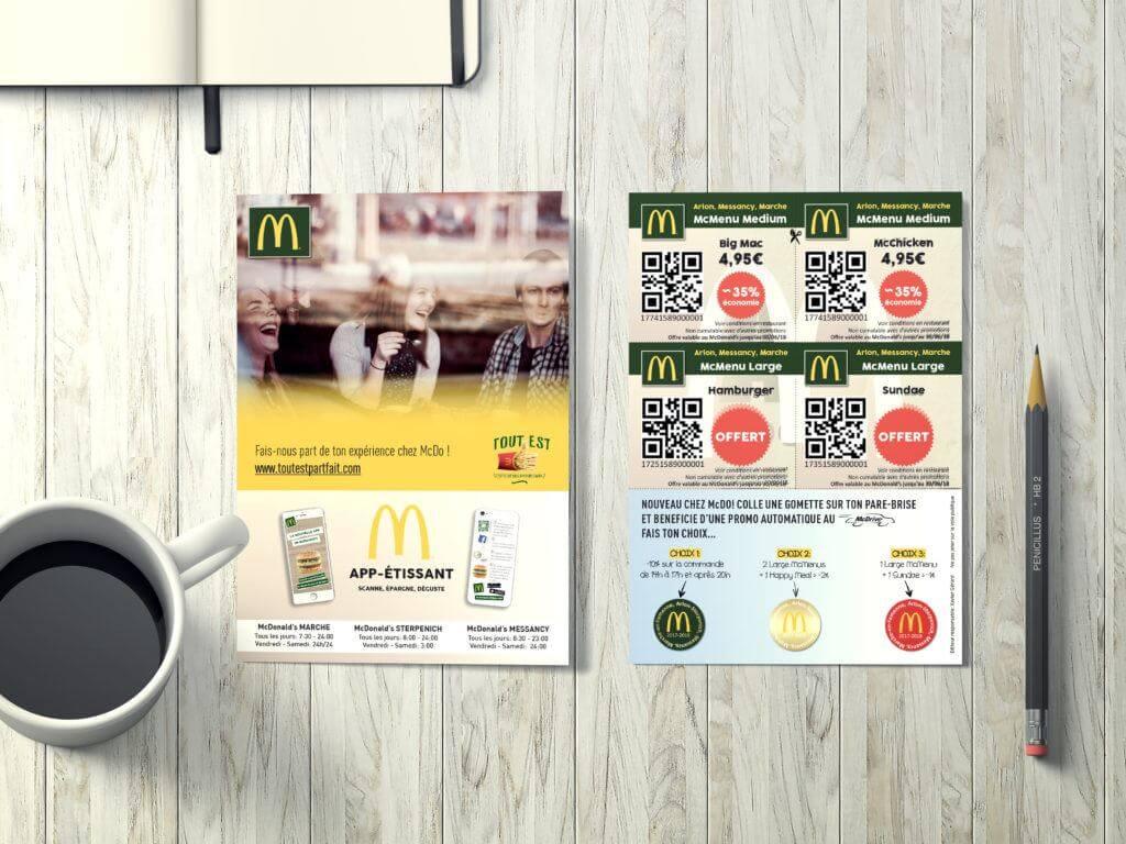 Flyers McDonald's