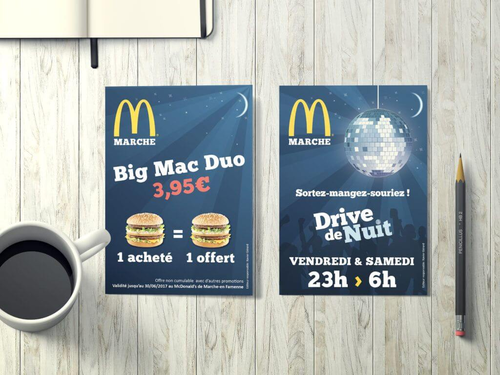Flyer McDonald's Marche