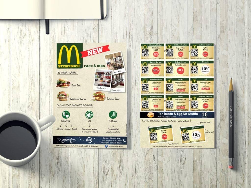 Flyer McDonald's Sterpenich