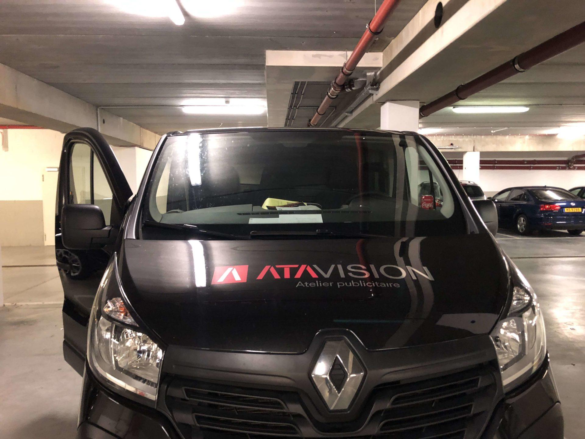 Lettrage véhicule - ATA Vision