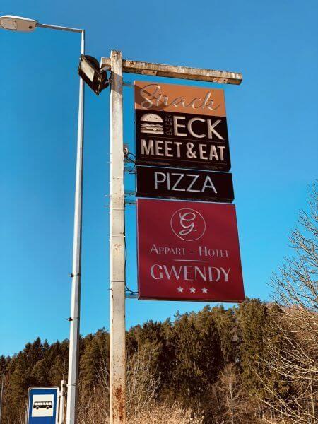 Réalisation caisson drapeau - ECK Buger
